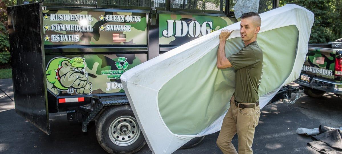 Mattress Disposal | JDog Junk Removal & Hauling