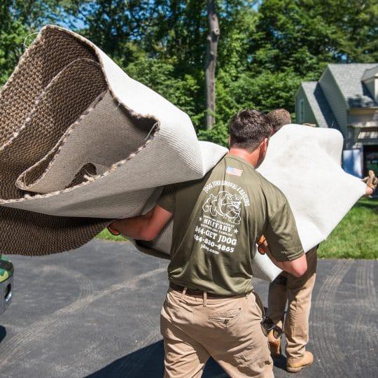 Carpet removal
