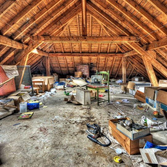 Organizing Your Attic