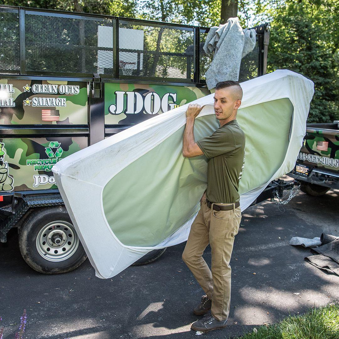 mattress disposal jdog junk removal american owned veteran