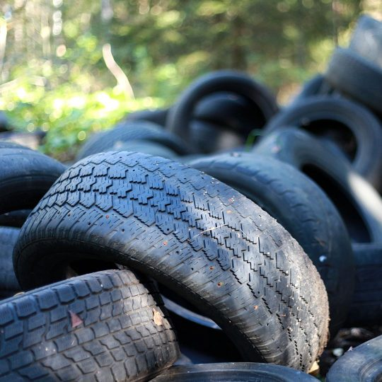 All About Old Tire Recycling