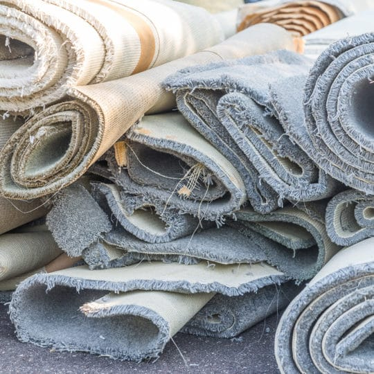 old-carpet-rolls
