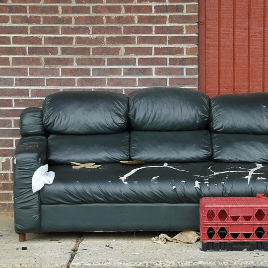 Couch removal: What to Do with Your Old Sofa