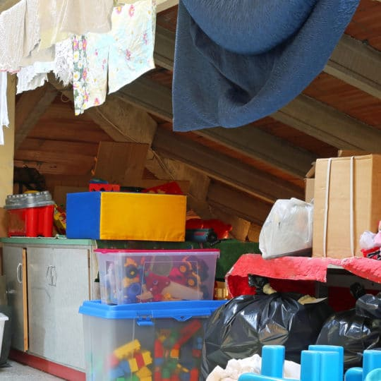 Attic Cleanout and Organization Tips