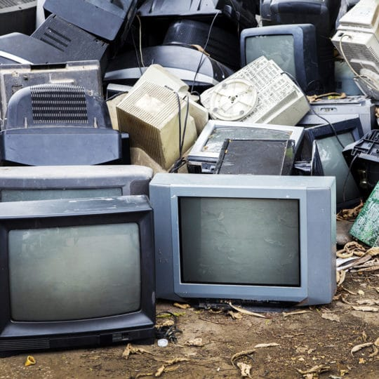 Why Can't You Throw Away a TV?