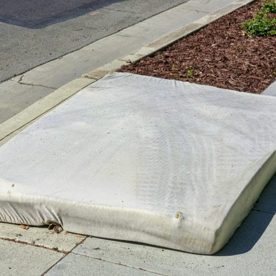 Will Waste Management Pick Up a Mattress?