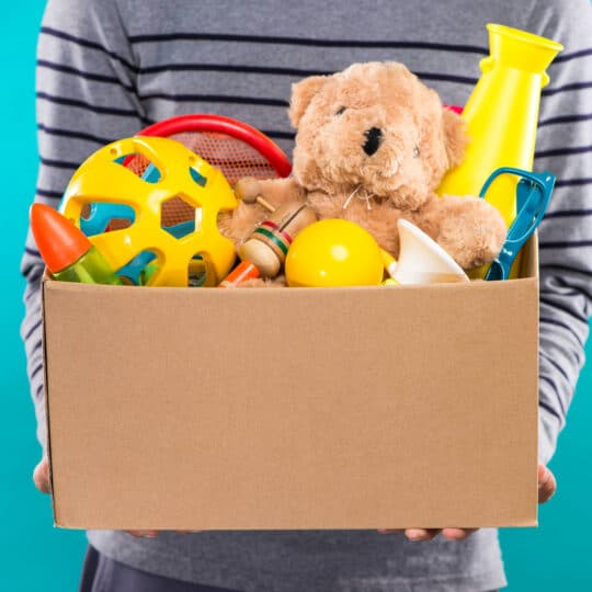 Where to Donate Old Toys